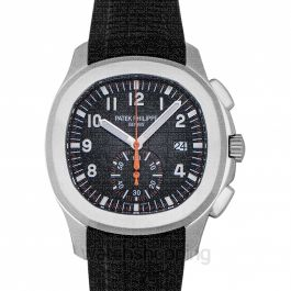 Aquanaut Black Dial Automatic Men's Chronograph Watch
