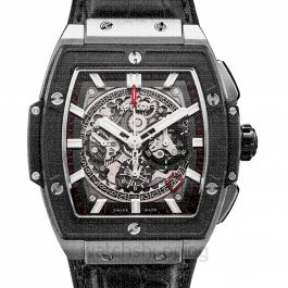 Spirit Of Big Bang Titanium Ceramic Automatic Skeleton Dial Men's Watch