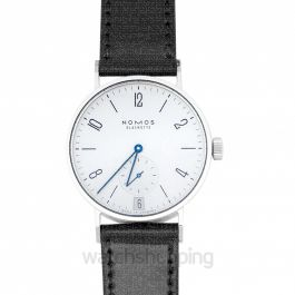 Tangomat Date Automatic White Dial 38.3mm Men's Watch