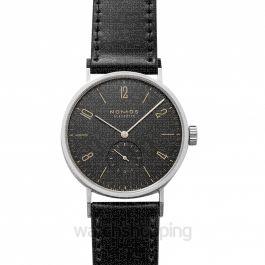 Tangomat Ruthenium Automatic Black Dial 38.3mm Men's Watch