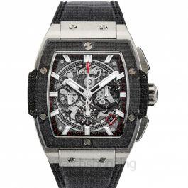 Spirit Of Big Bang Titanium Ceramic Automatic Skeleton Dial Men's Watch