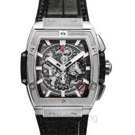 Spirit Of Big Bang Titanium Automatic Skeleton Dial Men's Watch