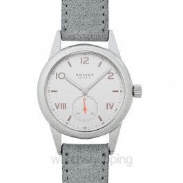 Club Campus Manual-winding White Silver Dial 36.0mm Unisex Watch