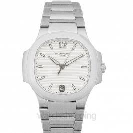 Nautilus Silver Dial Ladies Watch