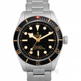Heritage Black Bay Fifty-Eight Stainless Steel Automatic Black Dial Men's Watch