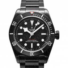 Heritage Black Bay Dark Swiss Steel Automatic Black Dial Men's Watch