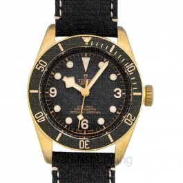 Heritage Black Bay Bronze Swiss Dive Steel Automatic Grey Dial Men's Watch