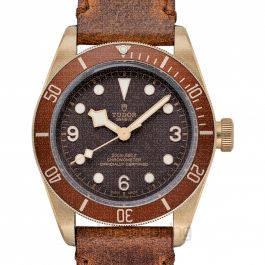 Heritage Black Bay Alloy Automatic Brown Dial Men's Watch