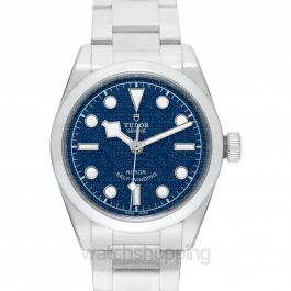 Heritage Black Bay Stainless Steel Automatic Blue Dial Men's Watch