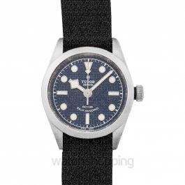New Heritage Black Bay 32 Baselworld 2018 Steel Automatic Blue Dial Ladies Watch