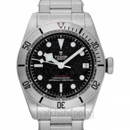 Heritage Black Bay Steel Automatic Black Dial Men's Watch