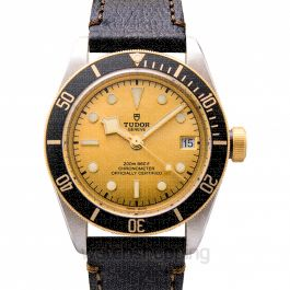 Heritage Black Bay S&G Automatic Champagne Dial Men's Watch