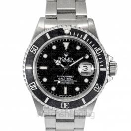 Rolex Submariner 16610 Black_@_4322