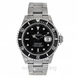 Rolex Submariner 16610 Black_@_4326