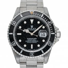Rolex Submariner 16610 Black_@_4220