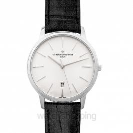 Patrimony White Dial Automatic Men's Watch
