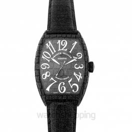 Franck Muller Cintree Curvex Black Automatic Watch 39mm