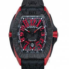 Franck Muller Conquistador Grand Prix Black REDSteel Automatic