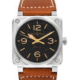 Bell & Ross Instruments BR0392-ST-G-HE/SCA