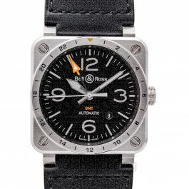 Bell & Ross Instruments BR0393-GMT-ST/SCA