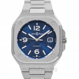 Instruments BR 05 Blue Steel Men's Watch
