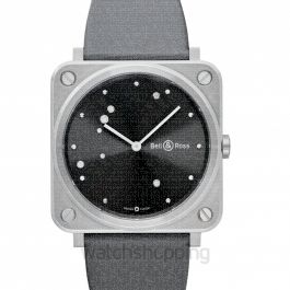 Instruments BR S Grey Diamond Eagle Men's Watch