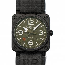 Bell & Ross Instruments BR0392-MIL-CE