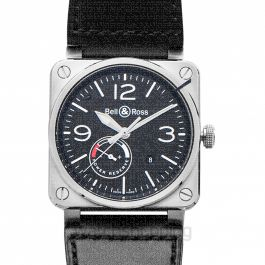 Bell & Ross Instruments BR0397-BL-SI/SCA
