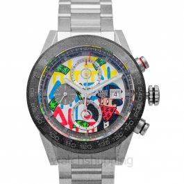 Carrera Calibre Heuer01 Alec Monopoly Special Edition Automatic Multicolored Dial Men's Watch