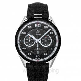 Carrera Automatic Chronograph Black Dial Dial Men's Watch