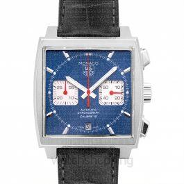 Monaco Calibre 12 Automatic Blue Dial Men's Watch
