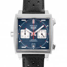 Monaco Calibre 11 Automatic Blue Dial Unisex Watch