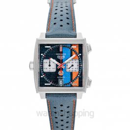 Monaco Calibre 11 Gulf Special Edition Multicolored Dial Men's Watch