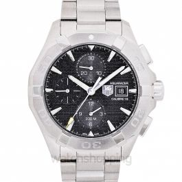 Aquaracer Calibre 16 Automatic Black Dial Men's Watch