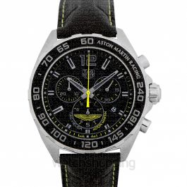 Formula 1 Chronograph Quartz Black Dial Men's Watch