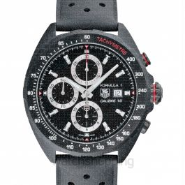 Formula 1 Calibre 16 Automatic Chronograph Black Dial Men's Watch