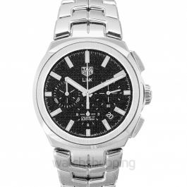 Link Calibre 17 Automatic Chronograph Black Dial Men's Watch
