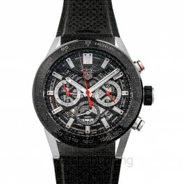 Carrera Calibre Heuer 02 Automatic Skeleton Dial Men's Watch