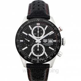 Carrera Automatic Black Dial Men's Watch
