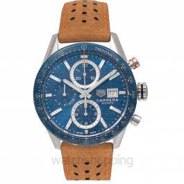 Carrera Calibre 16 Automatic Blue Dial Men's Watch