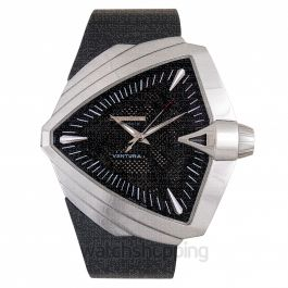 Ventura Automatic Black Dial Stainless Steel Men's Watch