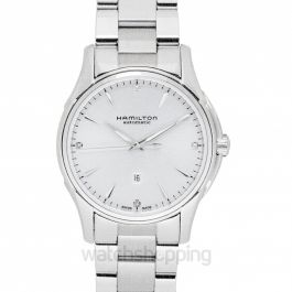Jazzmaster Automatic Silver Dial Stainless Steel Ladies Watch