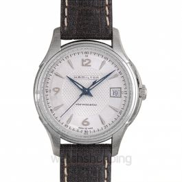 Jazzmaster Automatic Silver Dial Stainless Steel Men's Watch