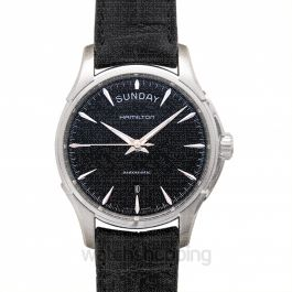 Jazzmaster Automatic Black Dial Stainless Steel Men's Watch