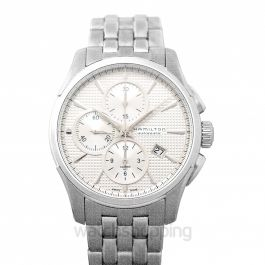 Jazzmaster Chronograph Automatic Silver Dial Stainless steel Men's Watch