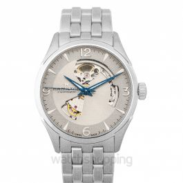 Jazzmaster Silver Dial Stainless Steel Men's Watch