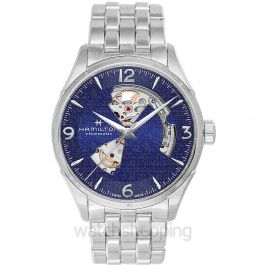 Jazzmaster Automatic Blue Dial Stainless Steel Men's Watch