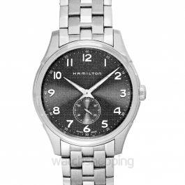 Jazzmaster Quartz Grey Dial Stainless Steel Ladies Watch