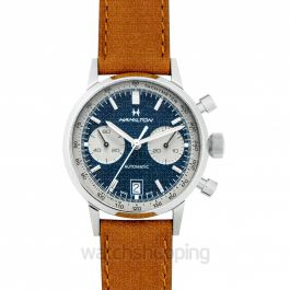 American Classic Intra-Matic Auto Chrono Brown/Leather 40mm