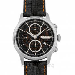 American Classic Railroad Auto Chrono Automatic Black Dial Stainless steel Men's Watch